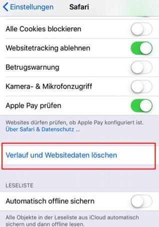 iPhone x/8/7/6 Speicher voll obwohl nichts drauf
