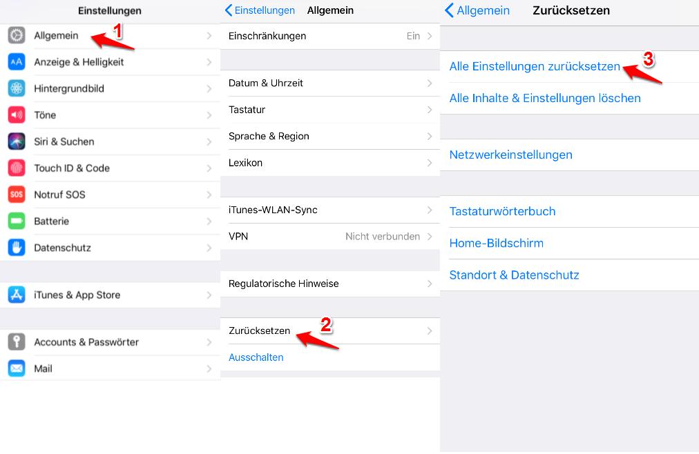 iPhone Touchscreen reagiert nicht und was tun
