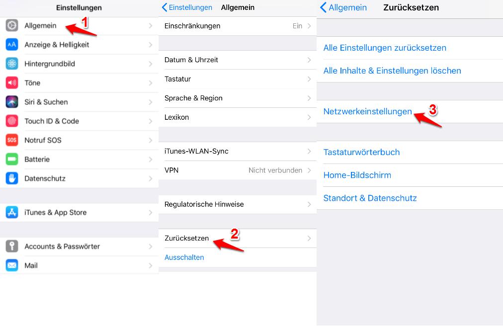 iPhone Voicemail nicht verfügbar – Netzwerkeinstellungen zurücksetzen