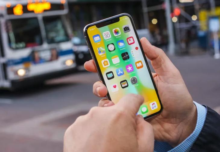 iPhone X schließen