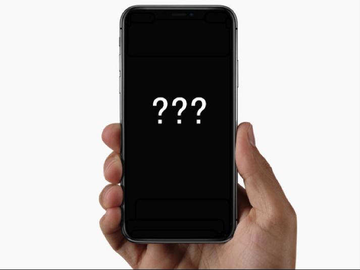 iPhone X versagt als Telefon