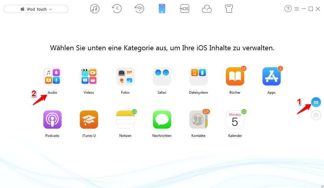 iTunes erkennt iPod nicht – Daten ohne iTunes übertragen