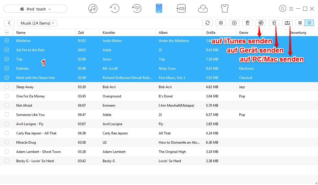iTunes erkennt iPod nicht mehr – Daten ohne iTunes übertragen