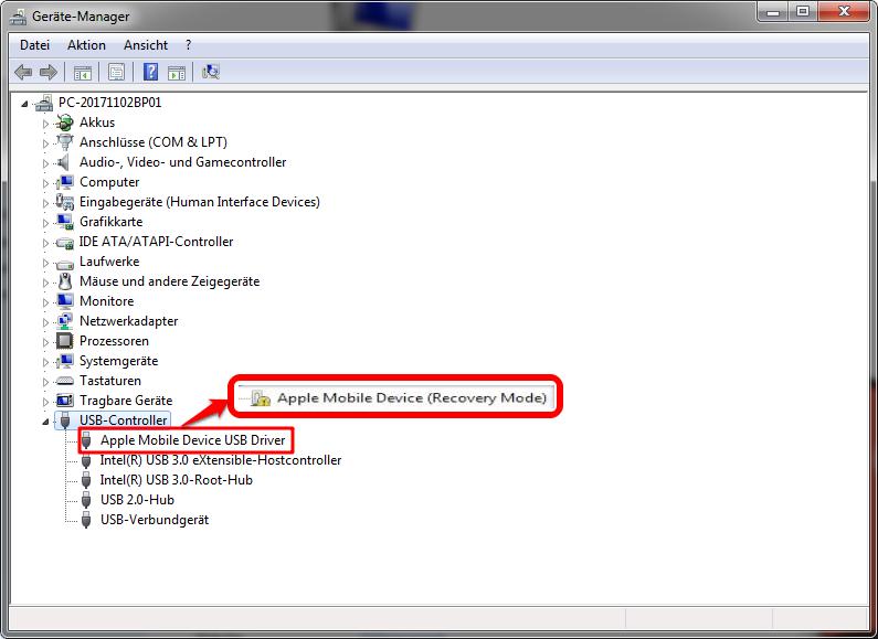 iTunes Fehler Plug-in Software