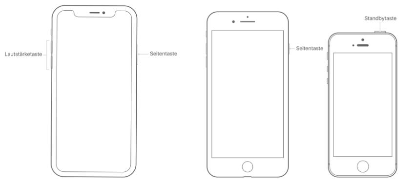 iOS 12 mobile Daten gehen nicht - iPhone neu starten