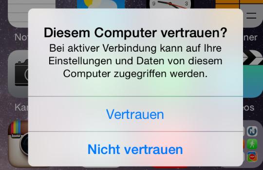 PC erkennt iPhone XS/XR/X/8/7/6/5 nicht – Computer vertrauen