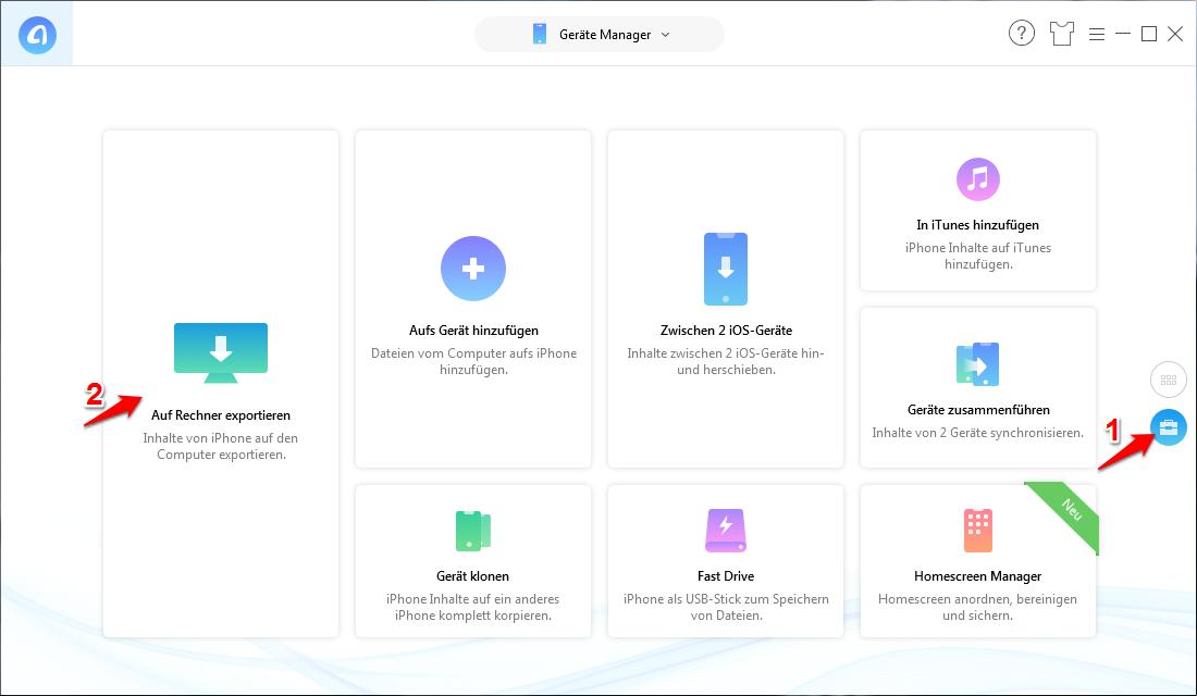 PC erkennt iPhone nicht – iPhone Dateien mit Alternative zu iTunes übertragen