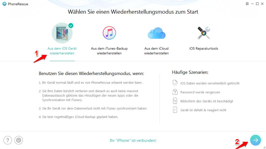 Safari Lesezeichen wiederherstellen nach iOS 12