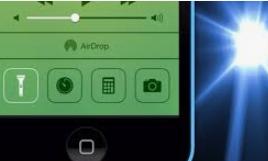Iphone taschenlampe geht nicht