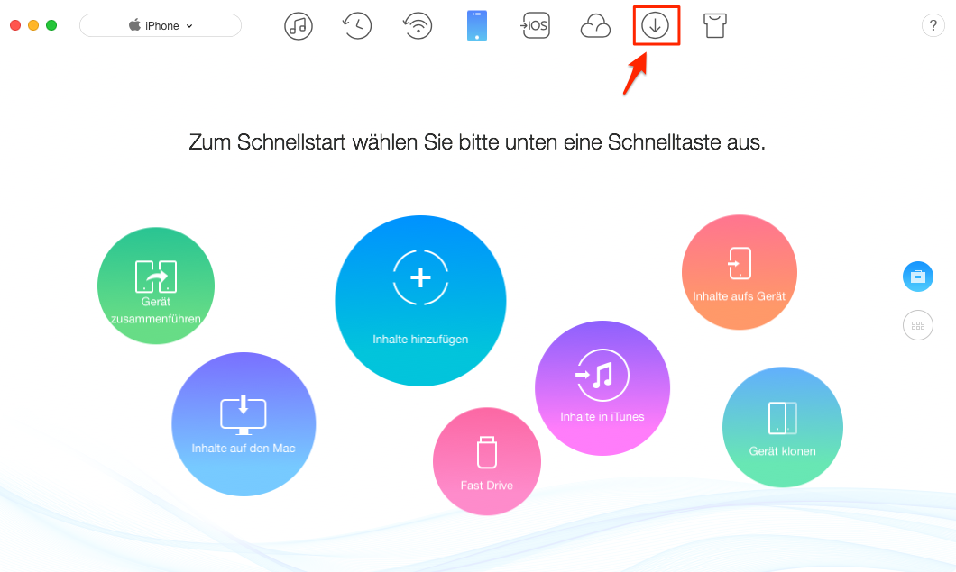 2018 WM Tore downloaden - Schritt 1