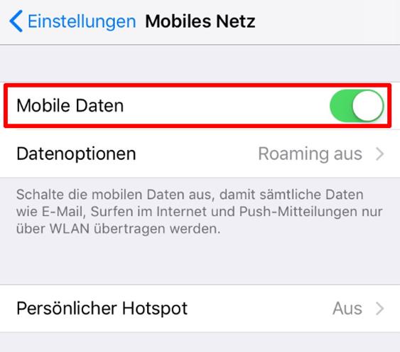 App Store Updates nicht geladen