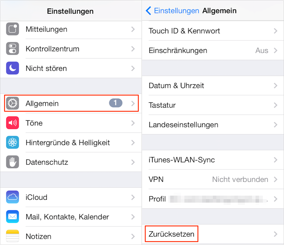 Backup iphone wiederherstellen