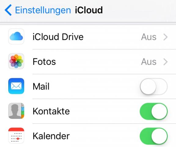 iCloud-Kalender neu aktivieren - iCloud Kalender Synchronisieren nich