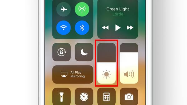 iOS 11 automatische Heiligkeit mit Kontrollzentrum einstellen