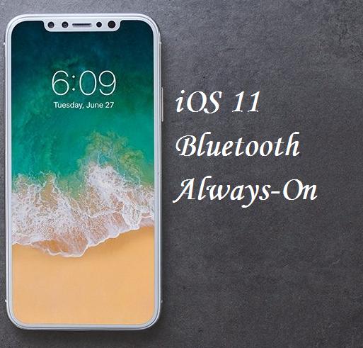 ios 11/11.1 Bluetooh ausschalten bzw. Bluetooth geht immer an