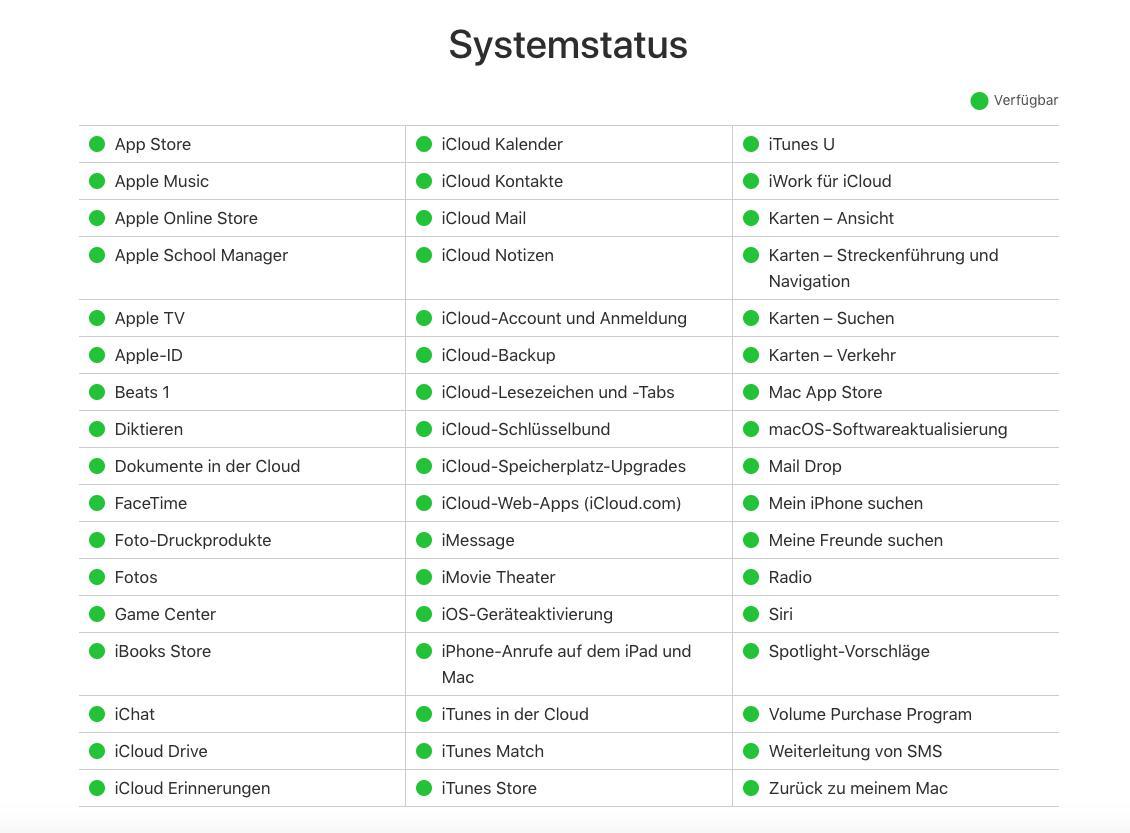 iOS Update konnte nicht überprüft werden