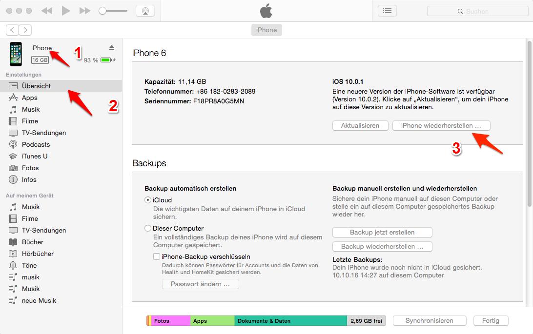 iOS 11 - iPhone & iPad Bluetooth findet keine Geräte