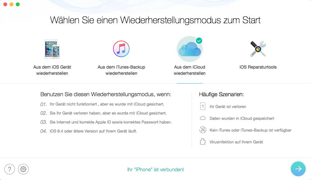 iPhone/iPad in iOS 10/10.1 lässt sich nicht aktivieren - Reparaturtools