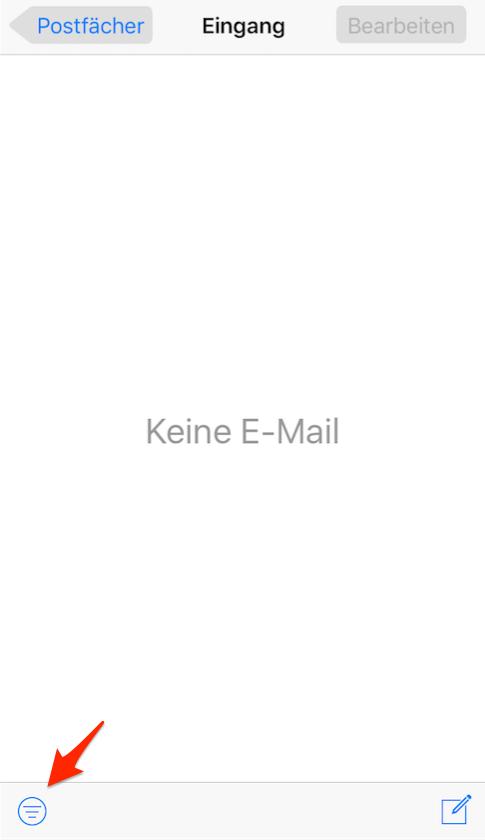 Wie kann man E-Mails filtern – Schritt 2