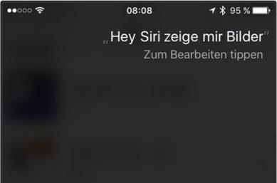 Einfach! iPhone/iPad Fotos mit Siri suchen