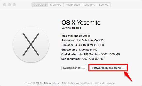 iPhone kann nicht verwendet werden – Mac/PC aktualisieren