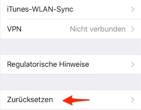 iPhone zurücksetzen ohne iTunes – Schritt 3