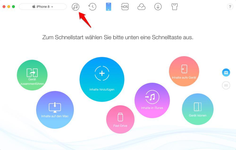 iTunes 12.6.3 nicht laden – AnyTrans verwenden