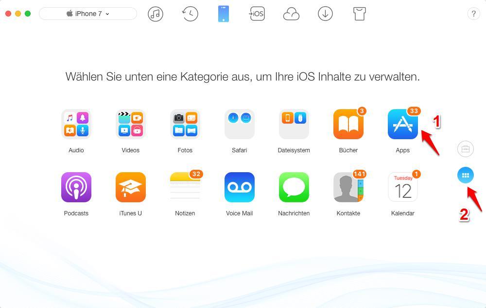iTunes 12.6.3 nicht laden – Apps finden