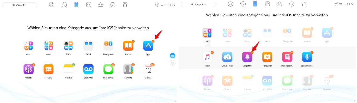 iTunes 12.7 Apps werden nicht angezeigt – AnyTrans verwenden
