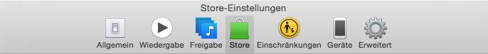 unnötige Dienste deaktivieren in iTunes