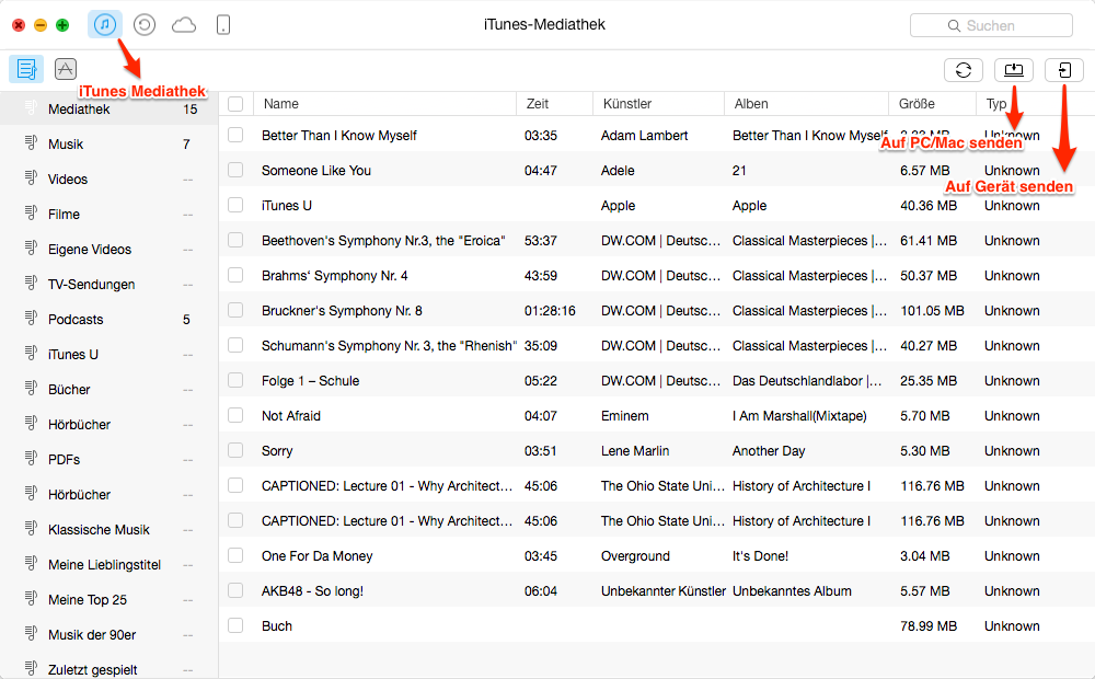 Die Alternative zu iTunes - AnyTrans