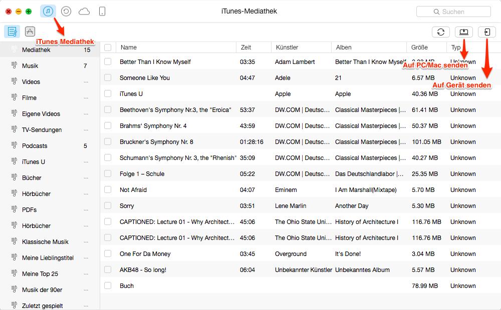 Die Alternative zu iTunes - AnyTrans