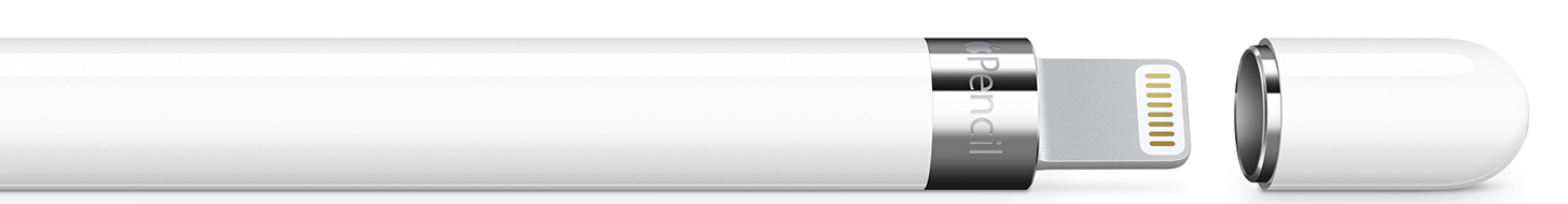 Apple Pencil mit iPad Pro aufladen