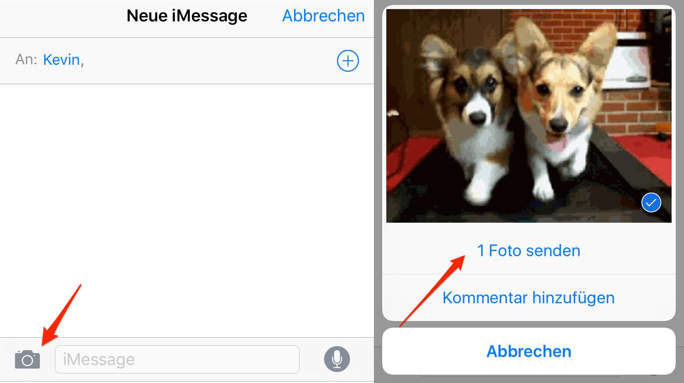 GIFs per iMessage versenden