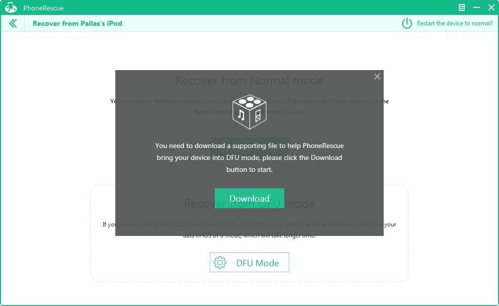 Die von PhoneRescue unterstützten Dateien herunterladen