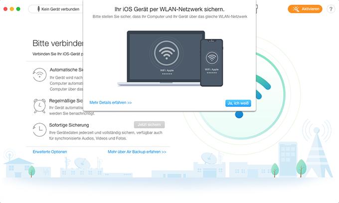 Ein öffentliches Wi-Fi Netzwerk verbinden