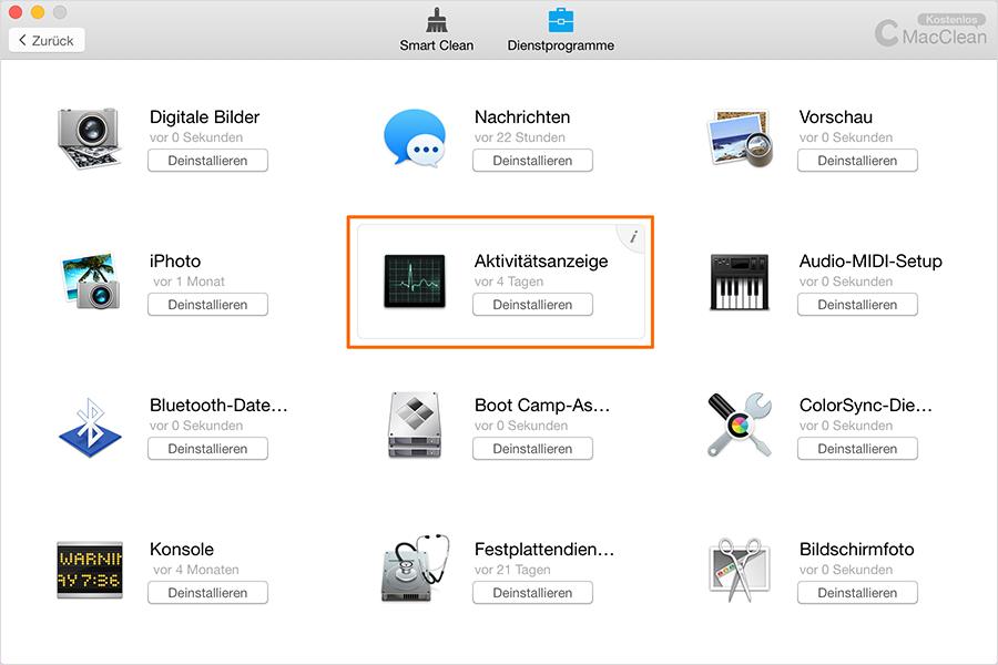 Dateien von App überprüfen – Schritt2