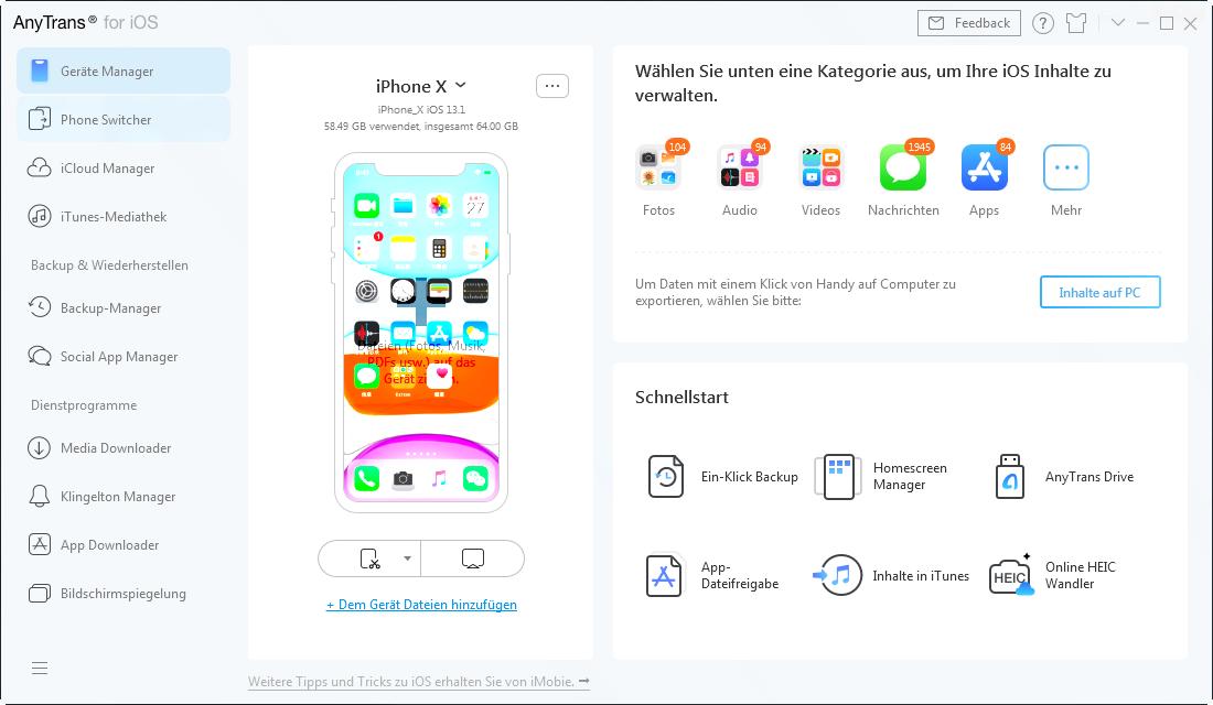 Backup von sozialen Apps-2