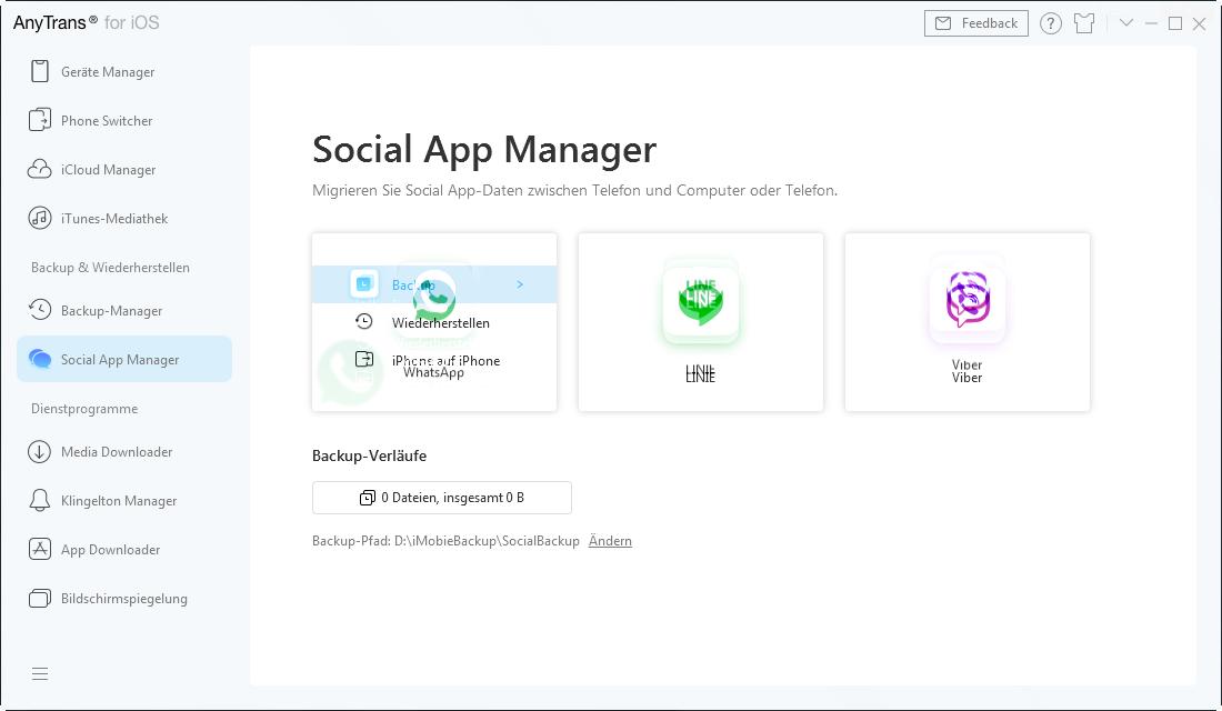 Backup von sozialen Apps-3