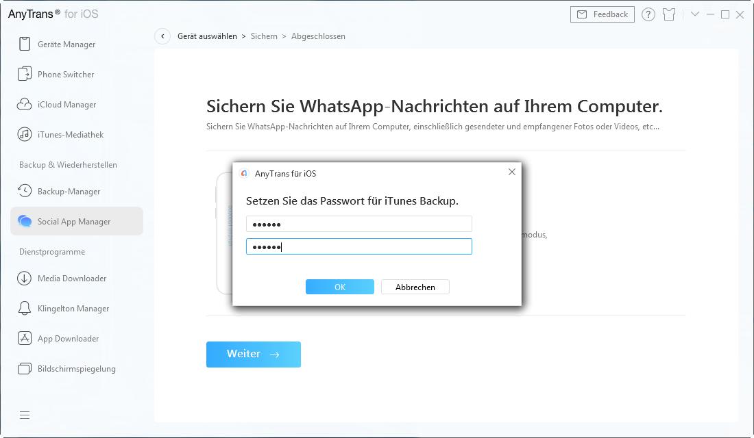 Backup von sozialen Apps-4