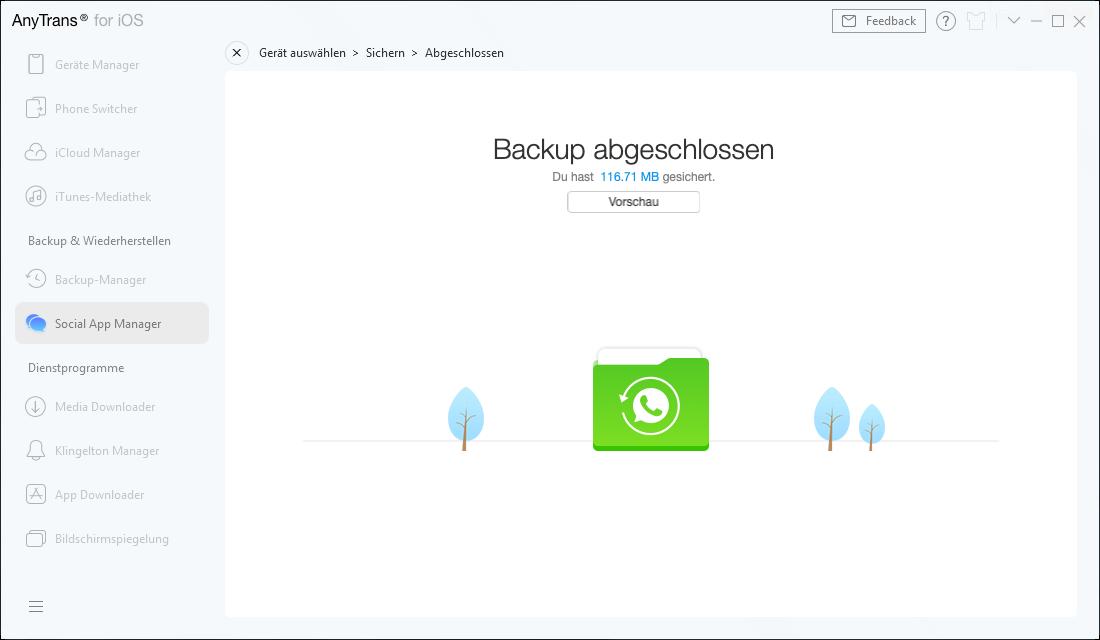Backup von sozialen Apps-6