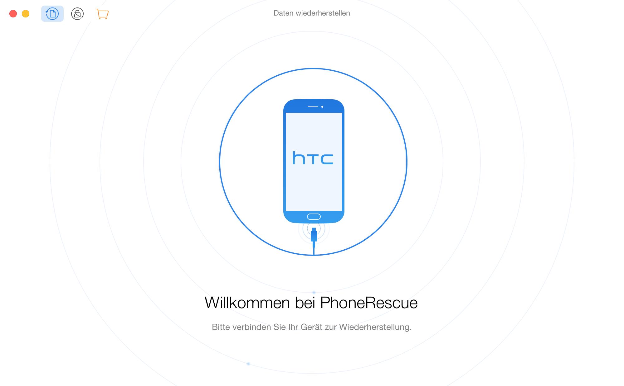 Verbinden Sie Ihr HTC Gerät