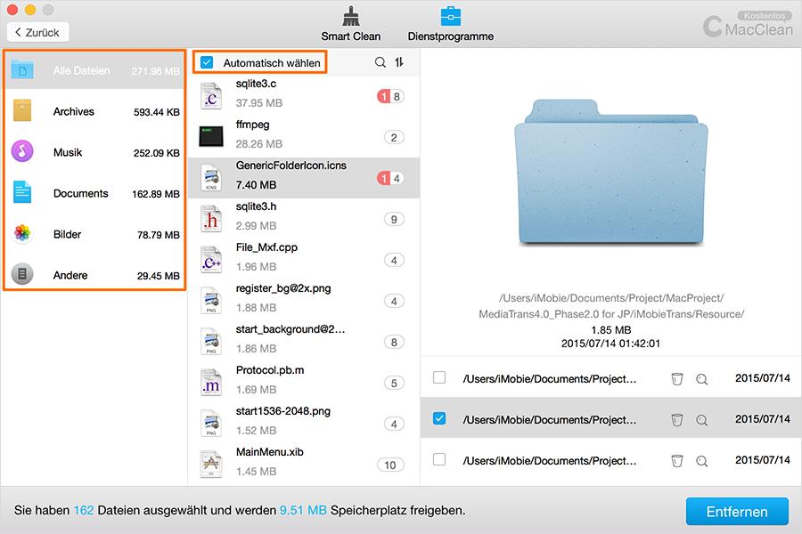 Pre-Check Dateien – Schritt3