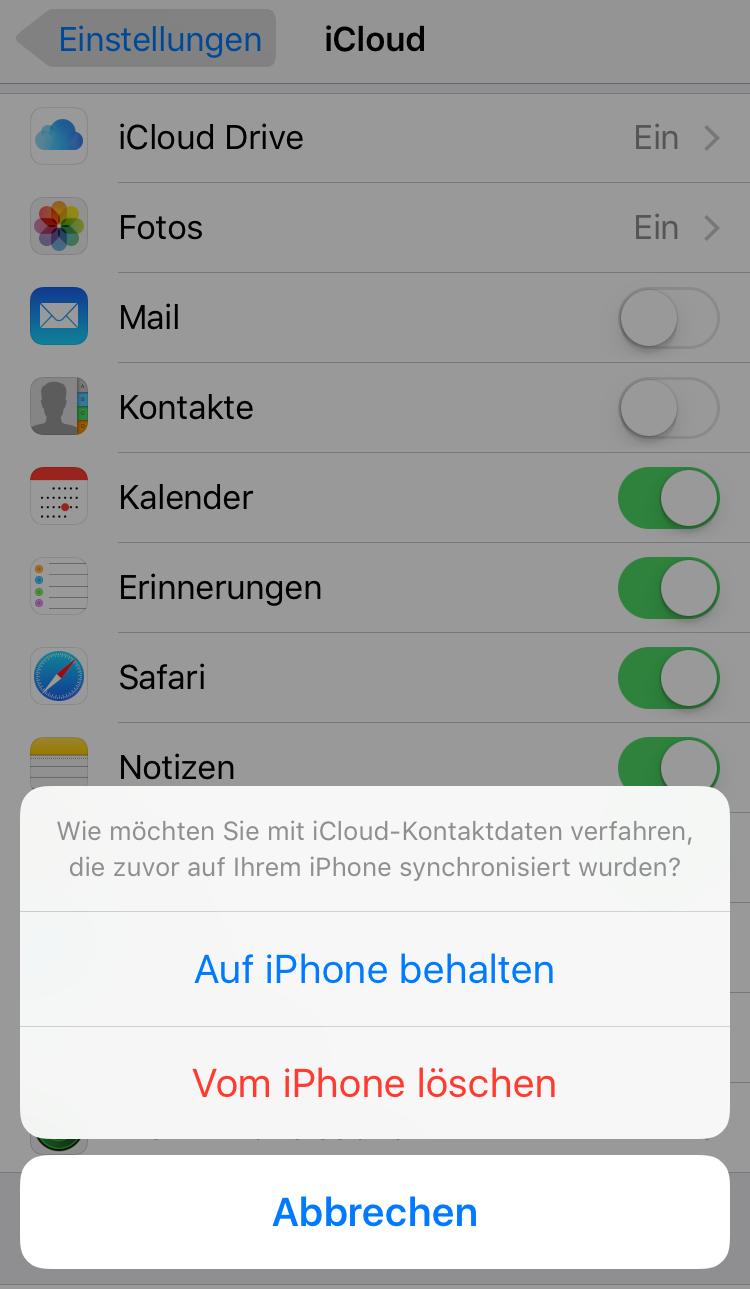 Apple ID verwalten