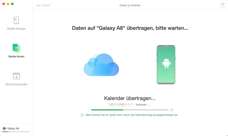 iCloud to Android - 5