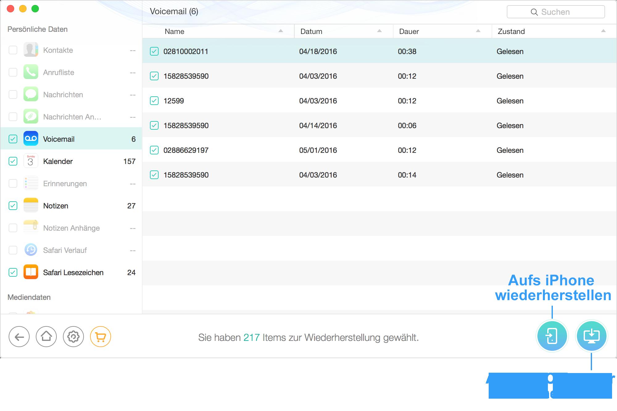 Interface von Datei-Überprüfung