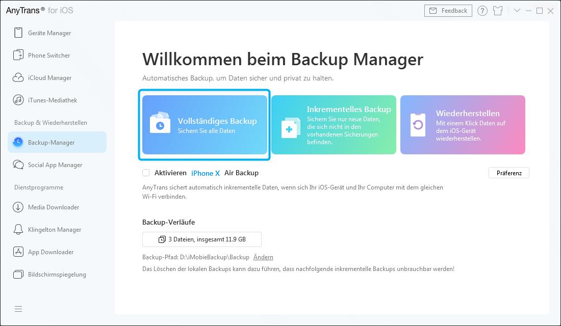 Vollständiges Backup-6