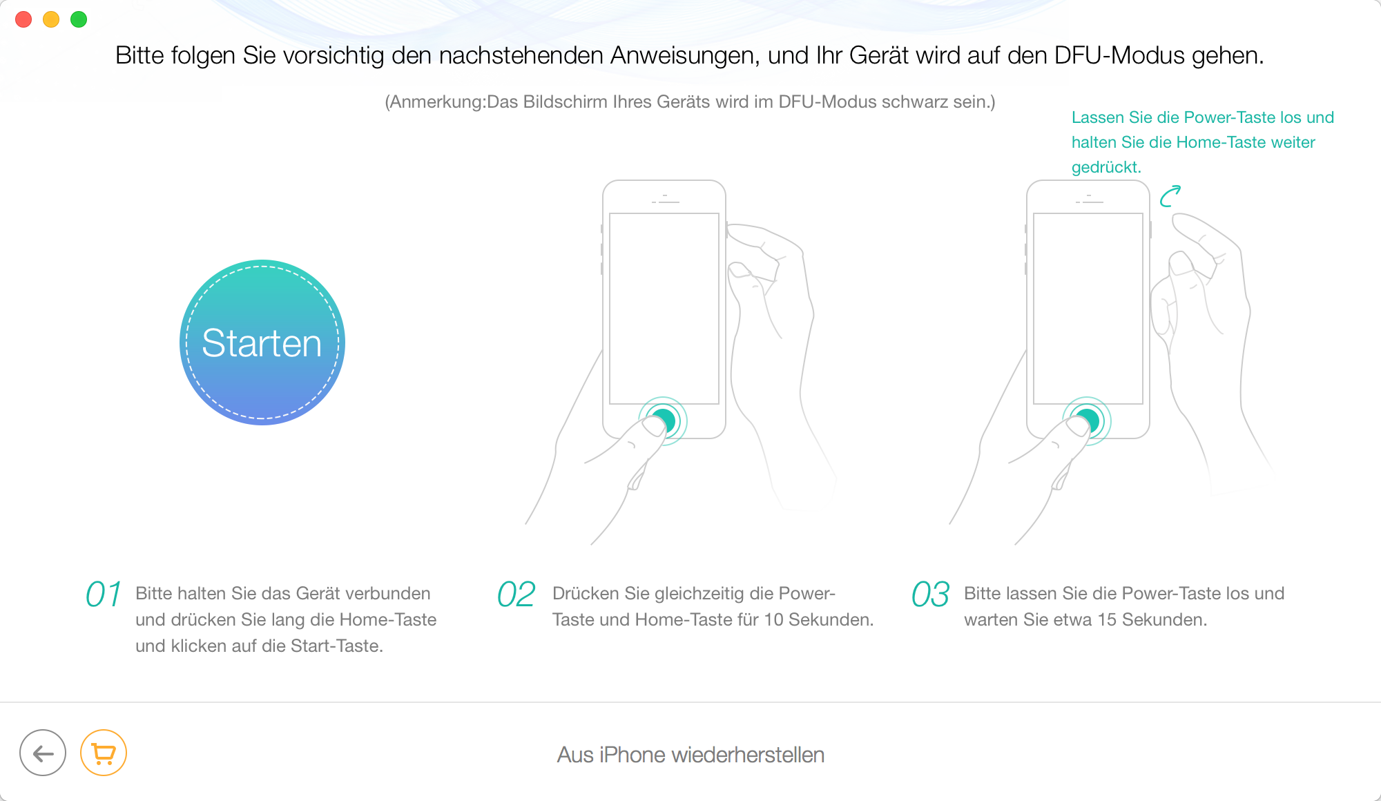 iphone dfu modus wiederherstellen