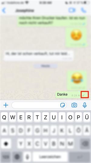 Sehen blockierte kontakte whatsapp was Blockierte Kontakte