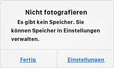 iPhone Speicher erweitern – Foto sichern